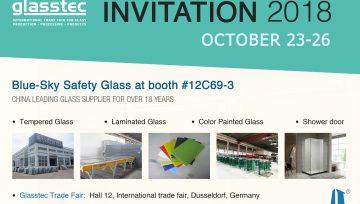 Glass Trade Fair Invitation In Germany