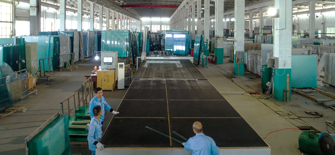 glass supplier factory
