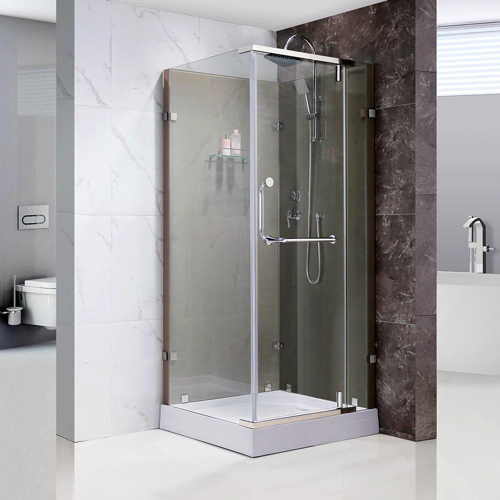 shower enclosure for small bathroom